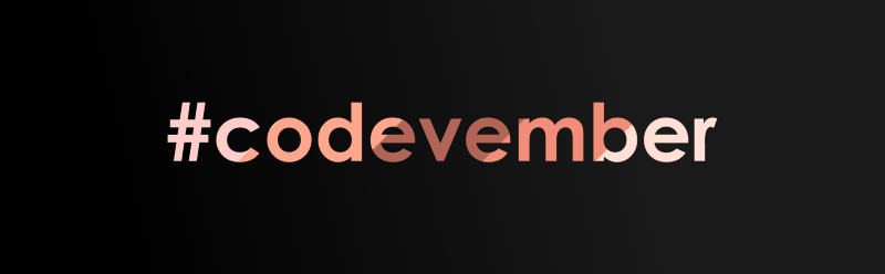 Kick Off Your Month Right with Codevember!