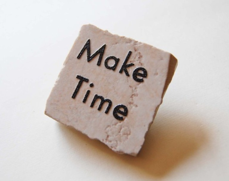 Take the Time, Take Your Time, and Make Time