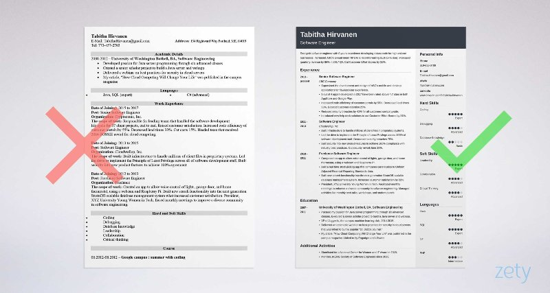 Display your developer skills with a dynamic resume