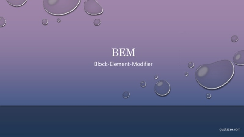 What BEM Means and When a Coder Should Use It