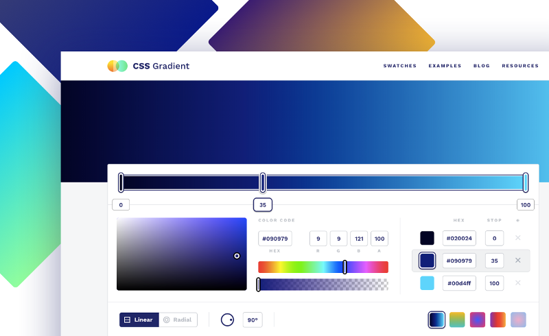 CSS Gradients Make an Image Look Like a Folded Poster