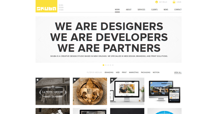 Skuba Design Home Page