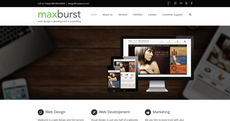 Maxburst Best Website Design Companies 10 Best Design