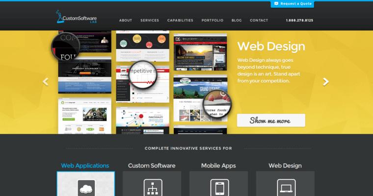 Custom Software Lab Best Web Design Firms