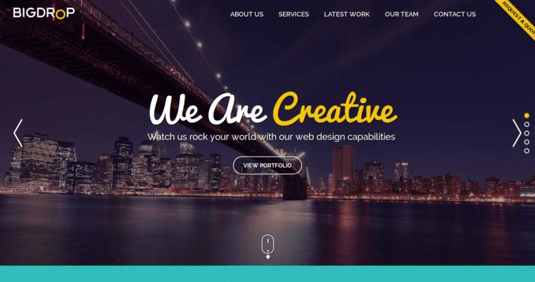 Big Drop Inc Best Website Design Companies 10 Best Design
