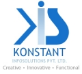 Leading Website Design Company Logo: Konstant Infosolutions
