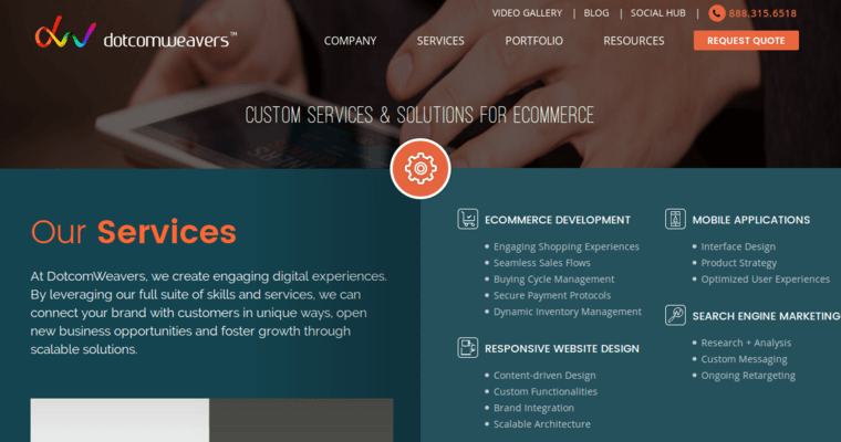 Dotcomweavers Top Website Development Firms 10 Best Design