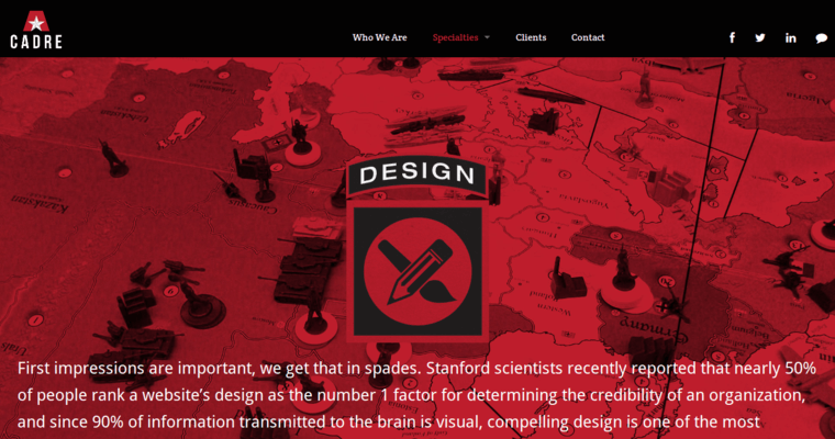 Cadre best web design firms 10 best design for Cadre photo design