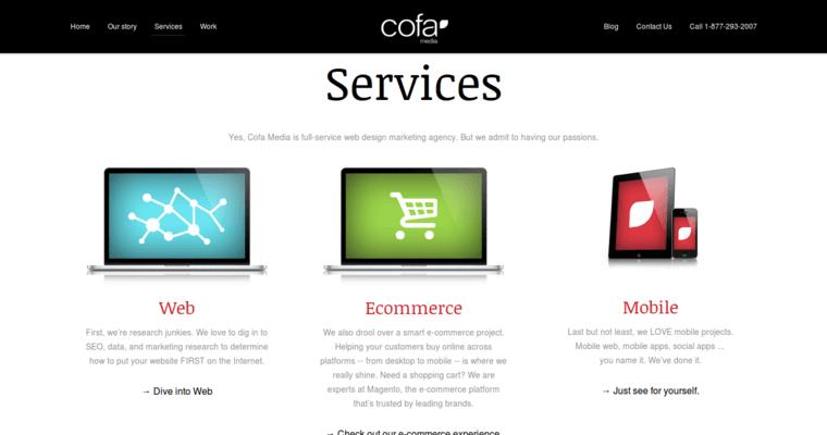 Cofa Media | Best Web Development Companies | 10 Best Design