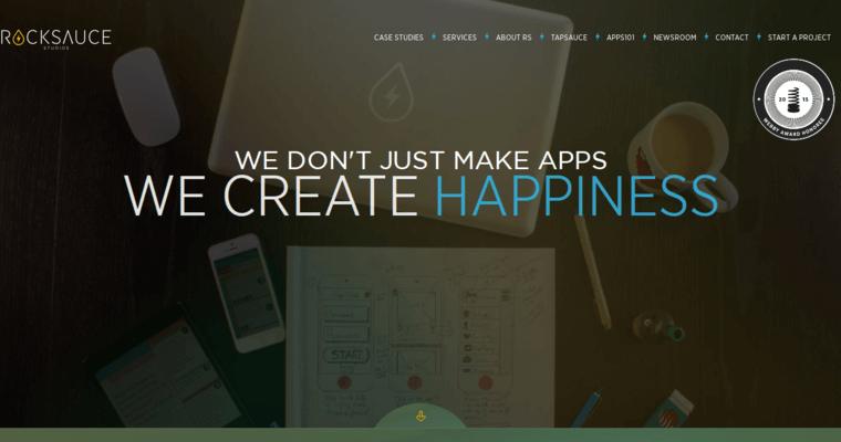 Rocksauce Studio Best Ios App Design Firms