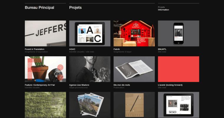 bureau principal portfolio page - Principal Of Architecture Design