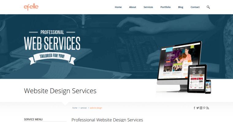 efelle creative best architecture web design firms