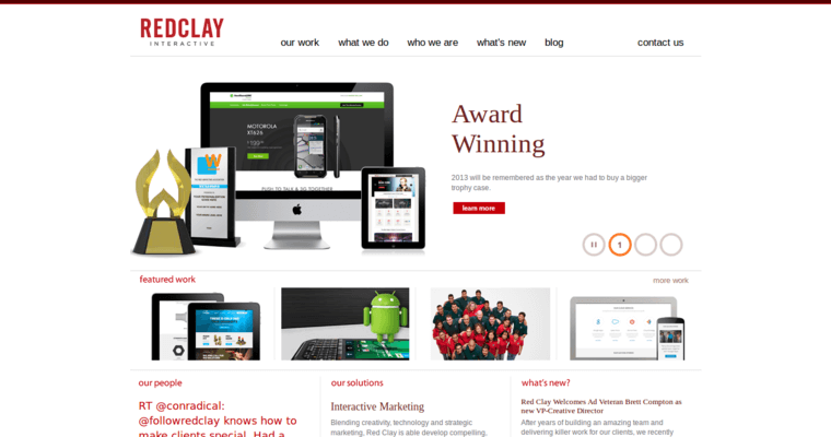 Red Clay Interactive Home Page