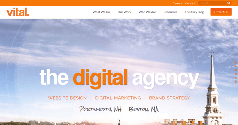 Vital Design Best Web Design Firms Boston