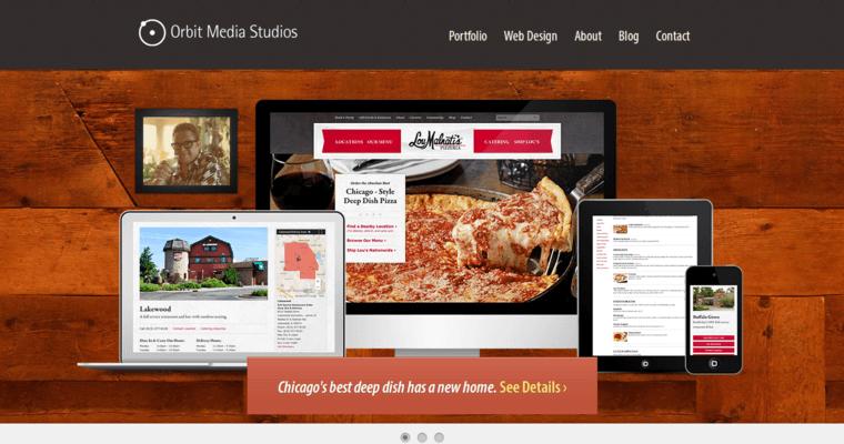 Orbit Media   Best Web Design Firms Chicago
