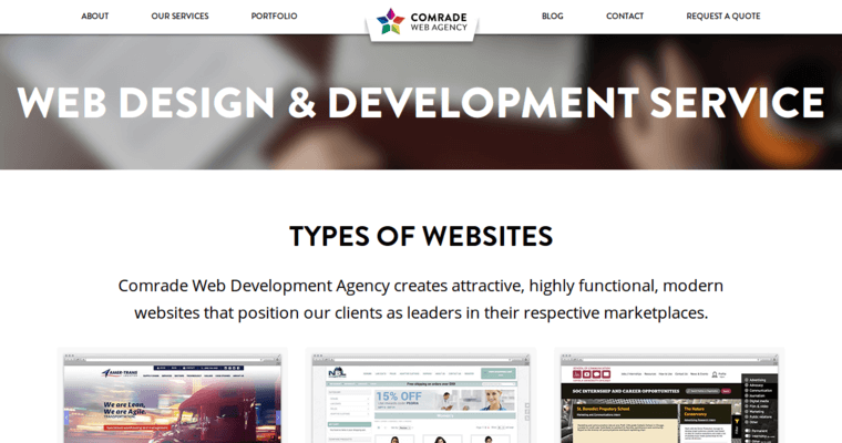 Comrade | Best Chicago Web Development Companies | 10 Best