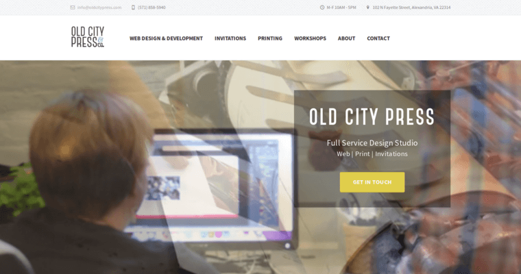 Old City Press | Best Corporate Web Design Firms