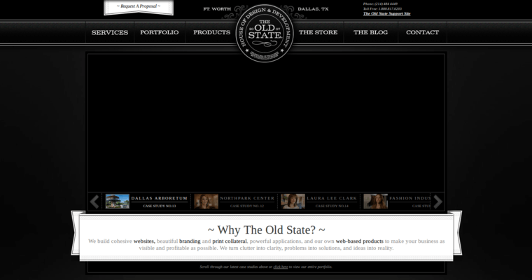 The old state best web design firms dallas for Top dallas architecture firms