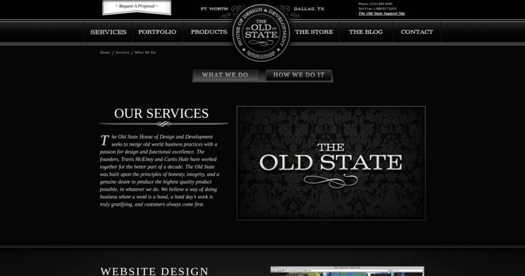 The Old State | Top Dallas Web Design Agencies | 10 Best Design