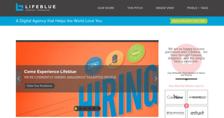 Lifeblue | Best Web Design Firms Dallas