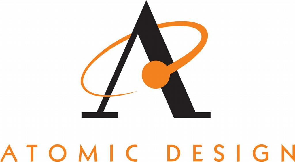 Best Dallas Web Development Agency Logo: Atomic Design