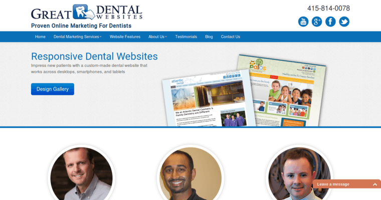 Great Dental Websites | Best Dental Web Design FIrms