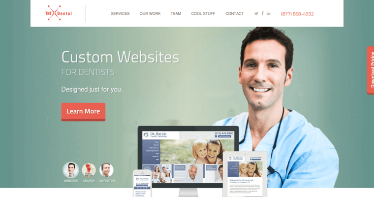 TNT Dental | Best Dental Web Design FIrms