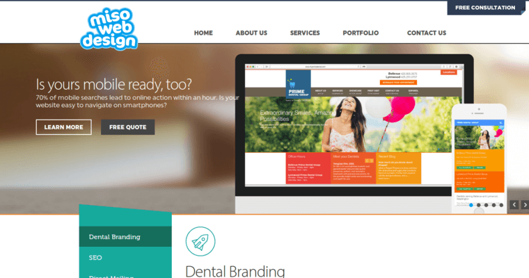 Miso Web Design Best Dental Web Design Firms