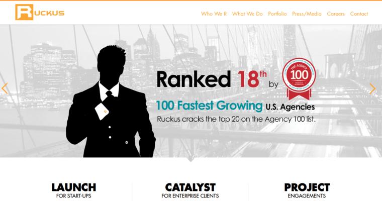 Ruckus Marketing | Top Drupal Web Design Agencies | 10 Best Design