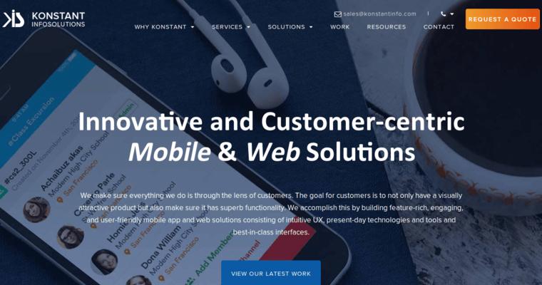Konstant Infosolutions | Best Drupal Web Design Firms