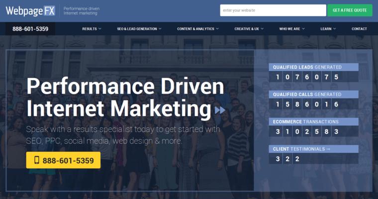 WebpageFX | Best Drupal Website Development Firms | 10 Best Design