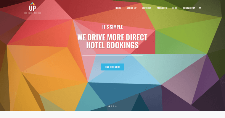 Up The Hotel Agency Best Hotel Web Design Firms