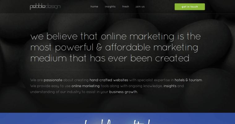 Pebble Design Best Hotel Web Design Firms