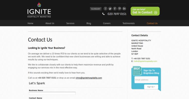 Ignite Hospitality Best Hotel Web Design Firms 10 Best Design