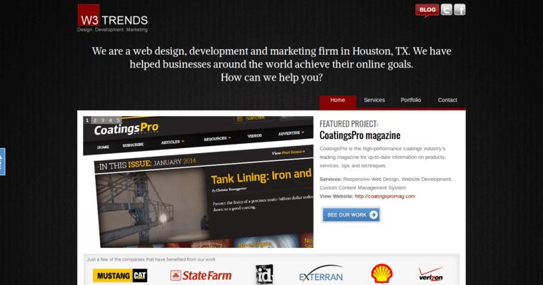 W3 Trends Web Design Best Web Design Firms Houston