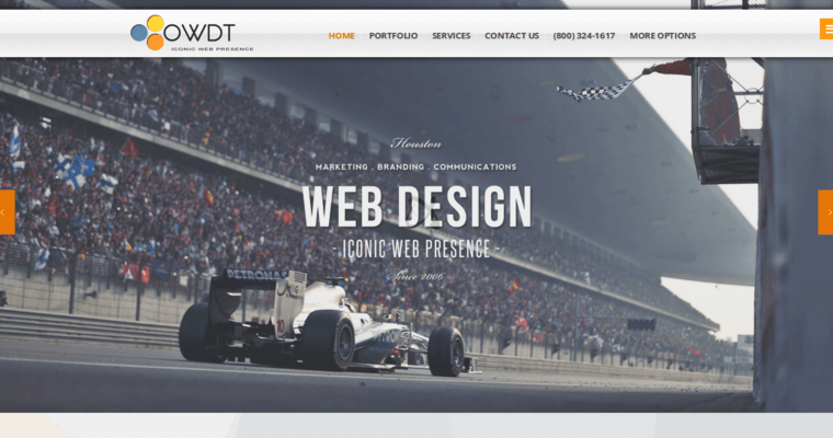 Owdt leading houston website design companies 10 best for Top architecture firms houston