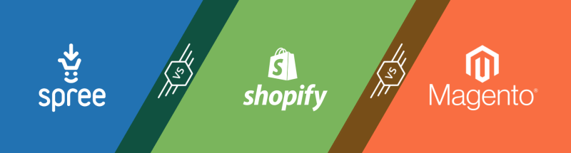 Spree vs Magento vs Shopify