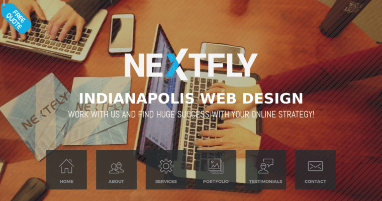 Nextfly Web Design Best Web Design Firms Indianapolis