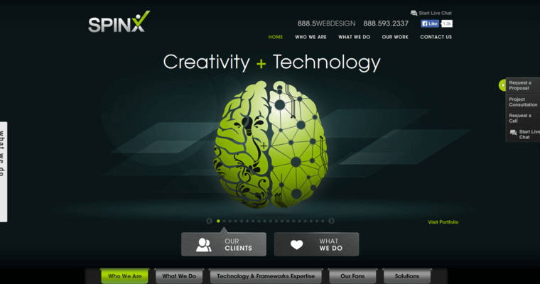 SPINX | Leading Los Angeles Web Development Firms | 10 Best
