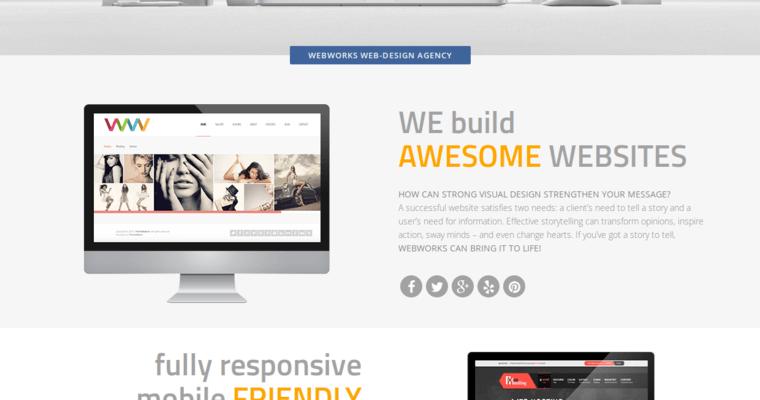 Webworks agency best web design firms la for Service design agency