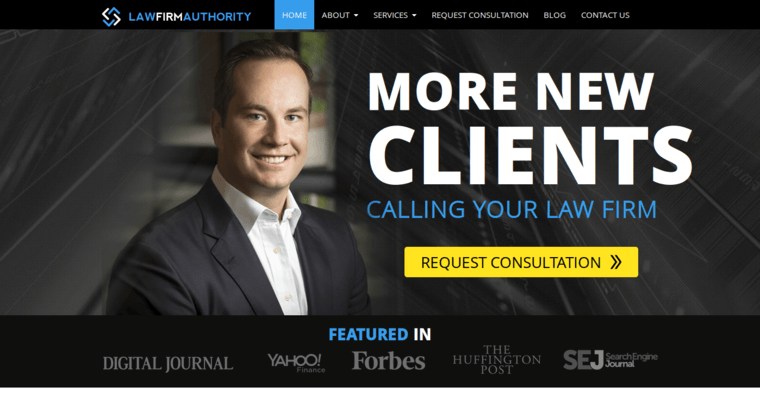 Law Firm Authority | Top Law Web Design Companies | 10 Best Design