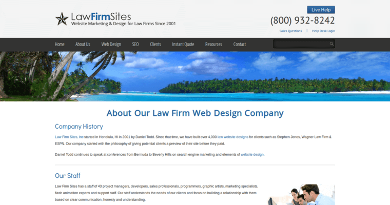 Law firm sites top law web design agencies 10 best design for Best architecture firm websites