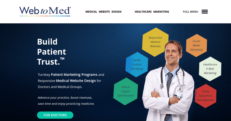 Web To Med Best Medical Web Design Agencies 10 Best Design