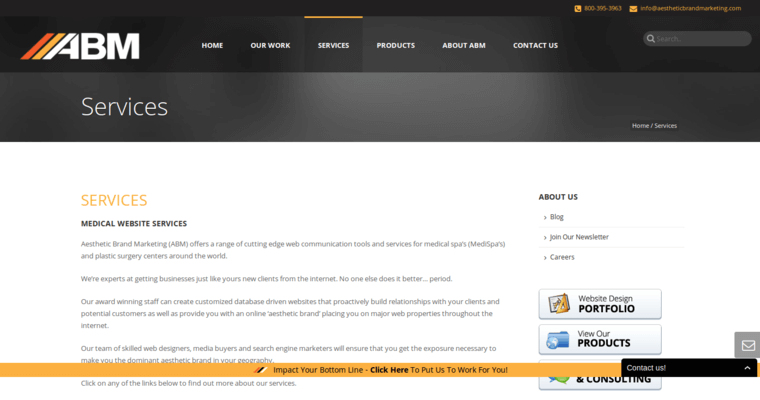 Aesthetic Brand Marketing Best Medical Web Design Firms