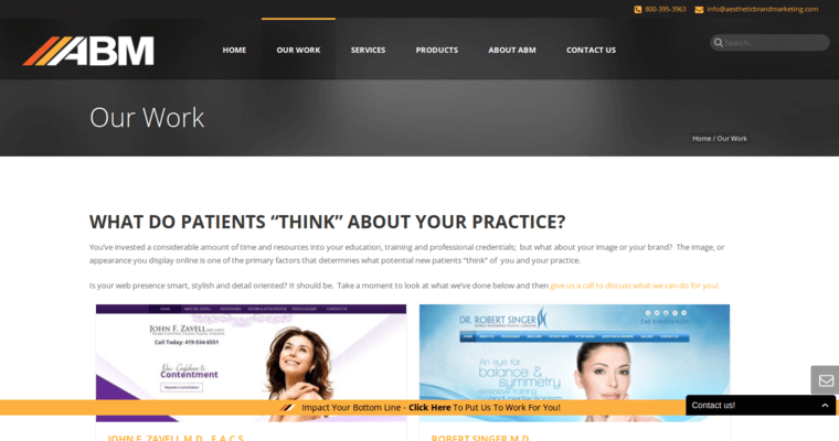 Aesthetic Brand Marketing Best Medical Web Design Firms