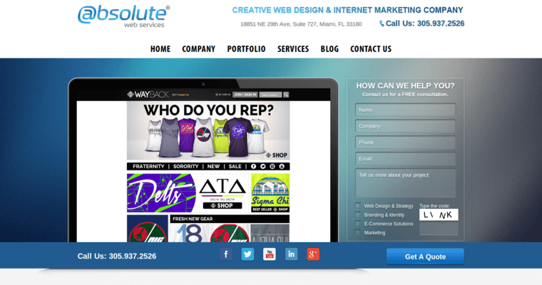 Absolute Web Services Best Web Design Firms Miami