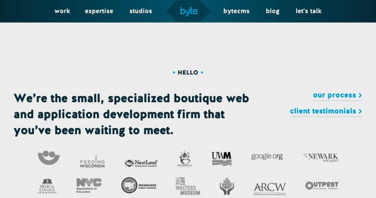 Byte Studios Best Web Design Firms Milwaukee