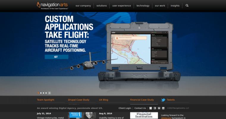 Navigation Arts Top New Web Design Firms 10 Best Design