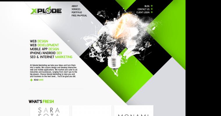 Xplode Marketing Top New Web Design Companies 10 Best Design