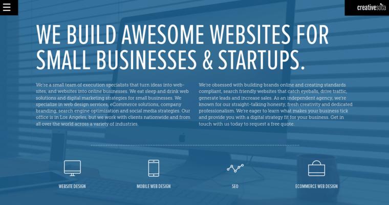 Creative Soda | Top New web design Firms | 10 Best Design